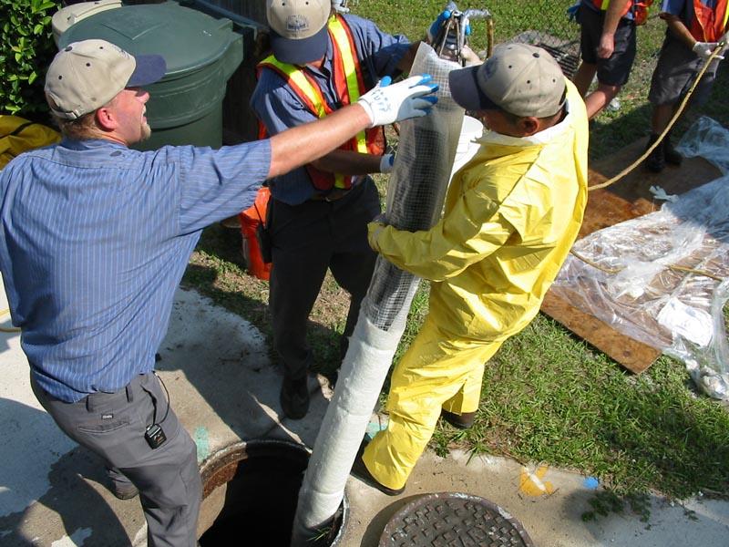 Broken Sewer Pipe Seattle